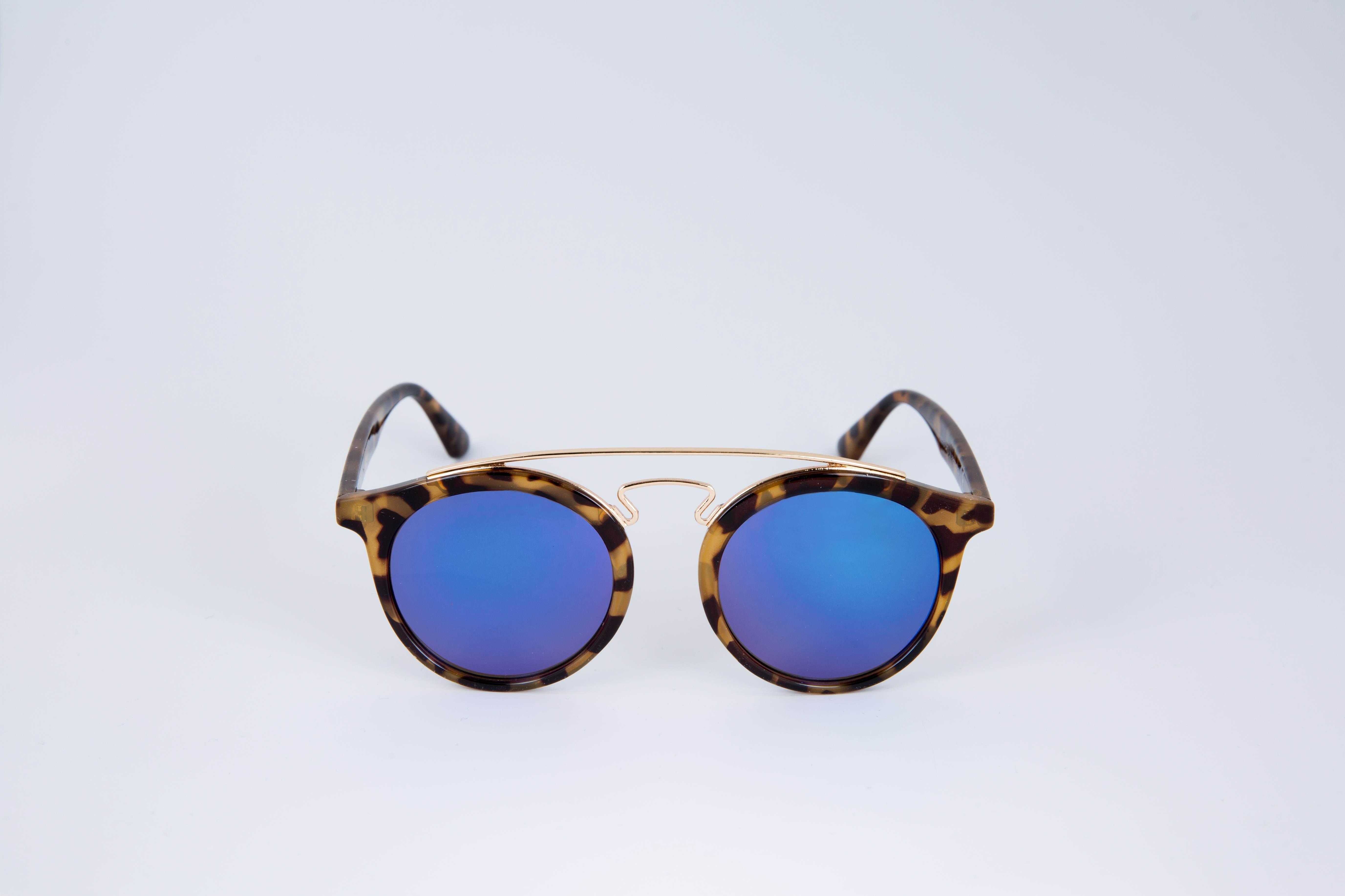 lunette de soleil homme femme accessoire ecaille marron double barre m tal dor. Black Bedroom Furniture Sets. Home Design Ideas