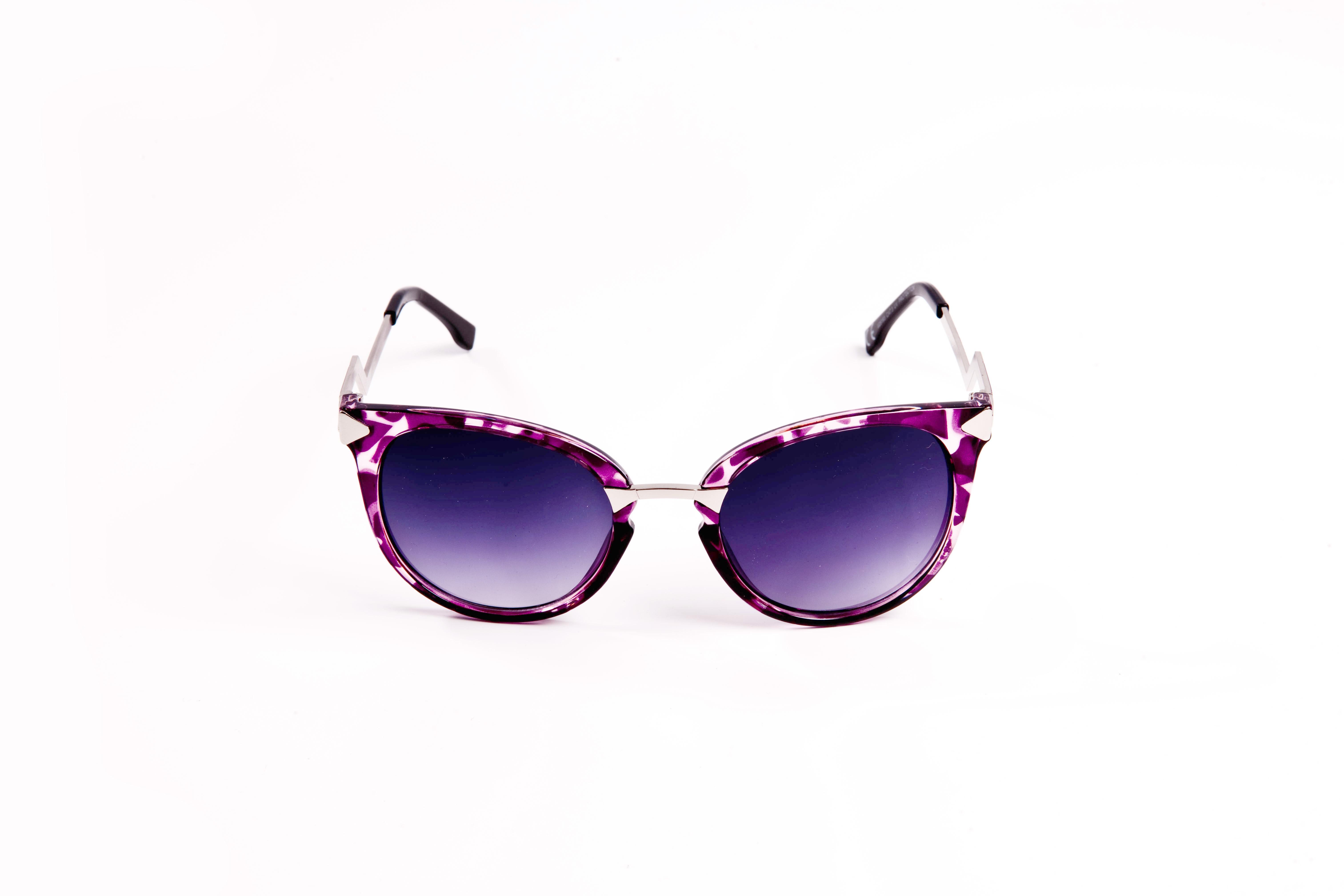 Lunettes de soleil violettes Vintage femme Cfd8A
