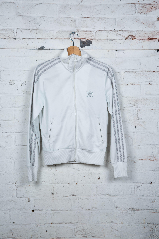 ... veste adidas blanche 915df385b37