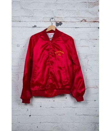 Bomber Nylon Rouge