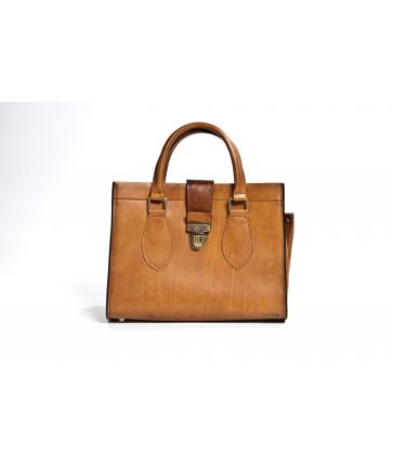 Sac 70's Cuir Marron