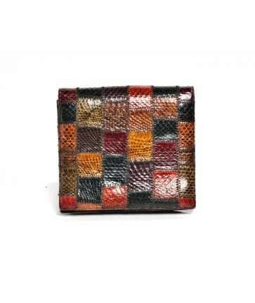 Pochette Patchwork Serpent
