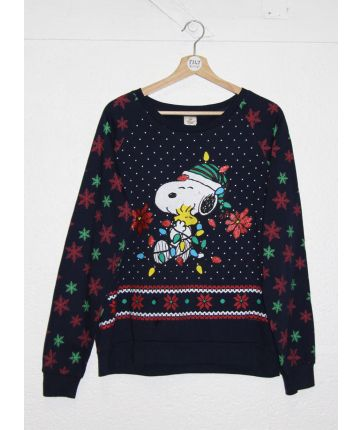 Sweat vintage Noël Snoopy